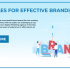 7 RULES FOR EFFECTIVE BRANDING